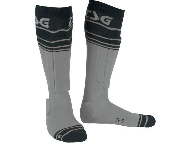TSG Riot Socks grey-striped